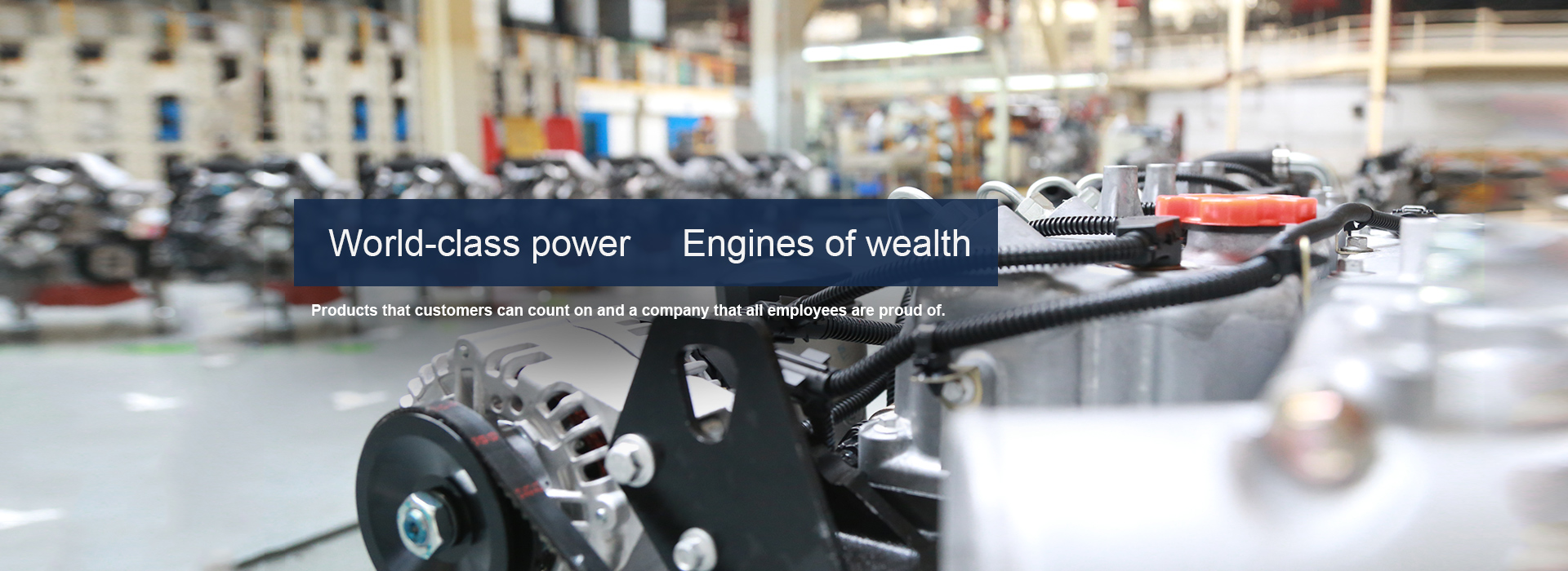 World-class power      Engines of wealth
